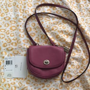 Brand new Coach mini crossbody